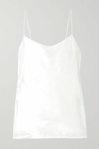 Dries Van Noten - Gathered Printed Cotton And Silk-blend Satin Midi Skirt - Yellow