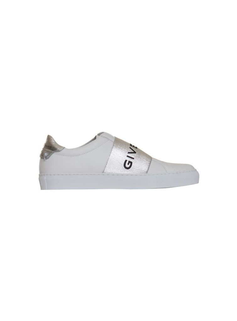 Givenchy Metallized Strap Sneakers