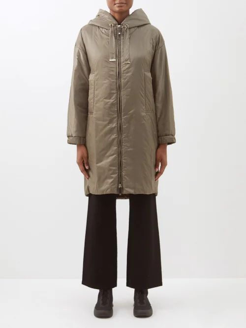 Racil - George Floral Single Breasted Cotton Blend Blazer - Womens - White Multi