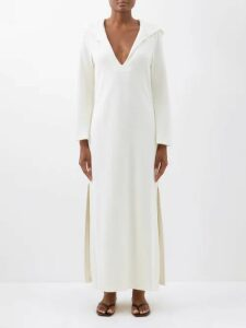 Apiece Apart - Feliz Linen And Cotton Blend Wrap Skirt - Womens - Khaki