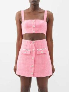 Apiece Apart - Feliz Linen And Cotton Blend Wrap Skirt - Womens - Khaki