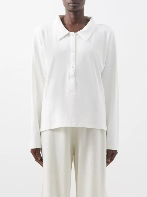Apiece Apart - Turkanna Striped Handkerchief Hem Cotton Skirt - Womens - Red