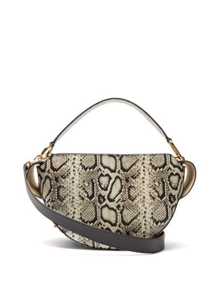Wandler - Yara Snakeskin Effect Leather Bag - Womens - Python