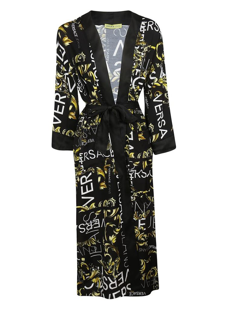 Versace Printed Kimono Coat