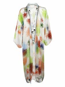 Genny Floral Print Kimono Coat