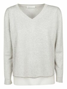 Fabiana Filippi Sheer Panel Sweater