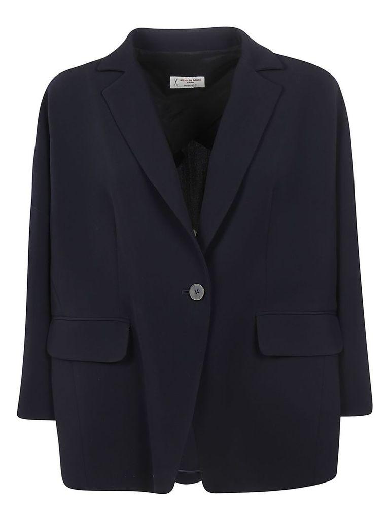Alberto Biani Single Buttoned Oversized Blazer