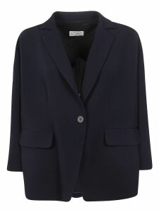 Alberto Biani Single Buttoned Oversized Blazer