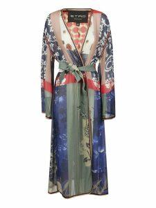 Etro Floral Print Kimono