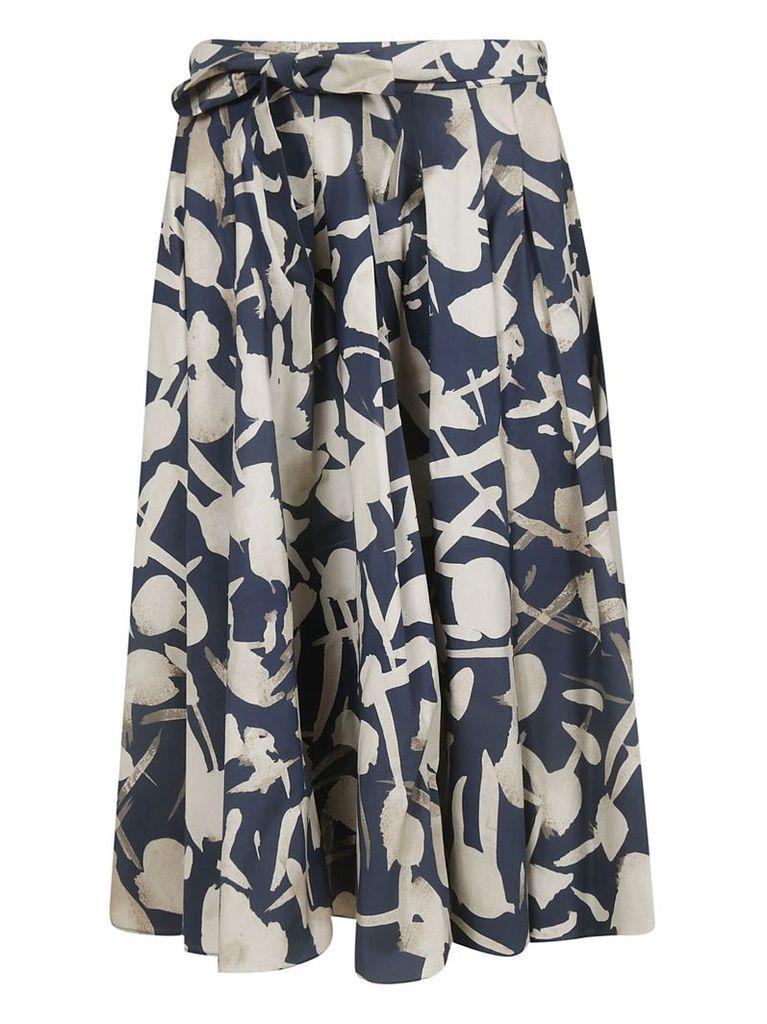 Max Mara Printed Skirt