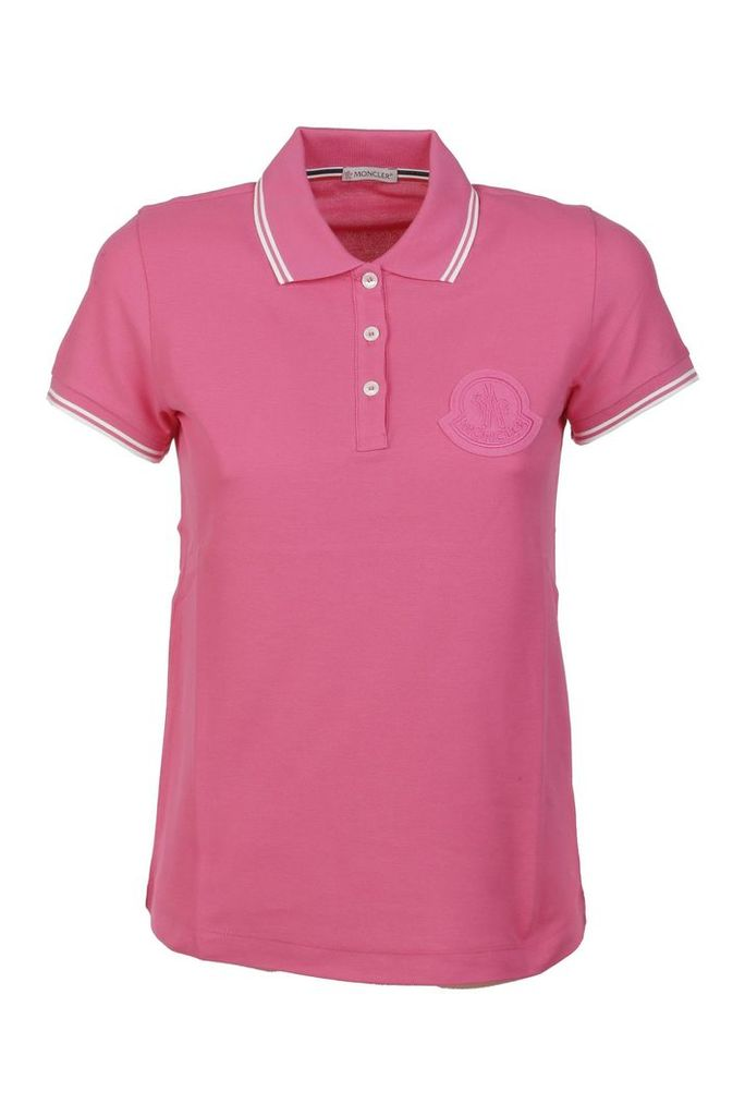 Moncler Embroidered Polo Shirt