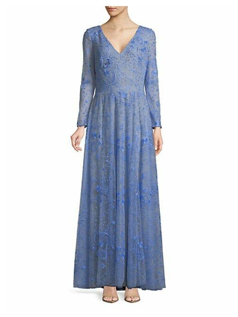 Galaxy Floor-Length Gown