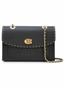 Coach Parker in signature leather with rivets - Black