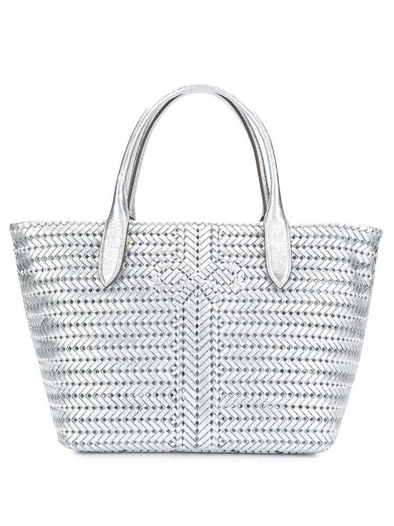 Anya Hindmarch Neeson tote bag - Silver