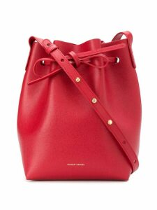 Mansur Gavriel drawstring bucket bag - Red
