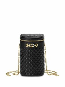 Gucci Quilted leather belt bag - Black