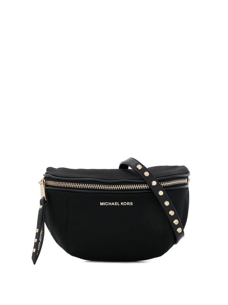 Michael Michael Kors studded strap bum bag - Black