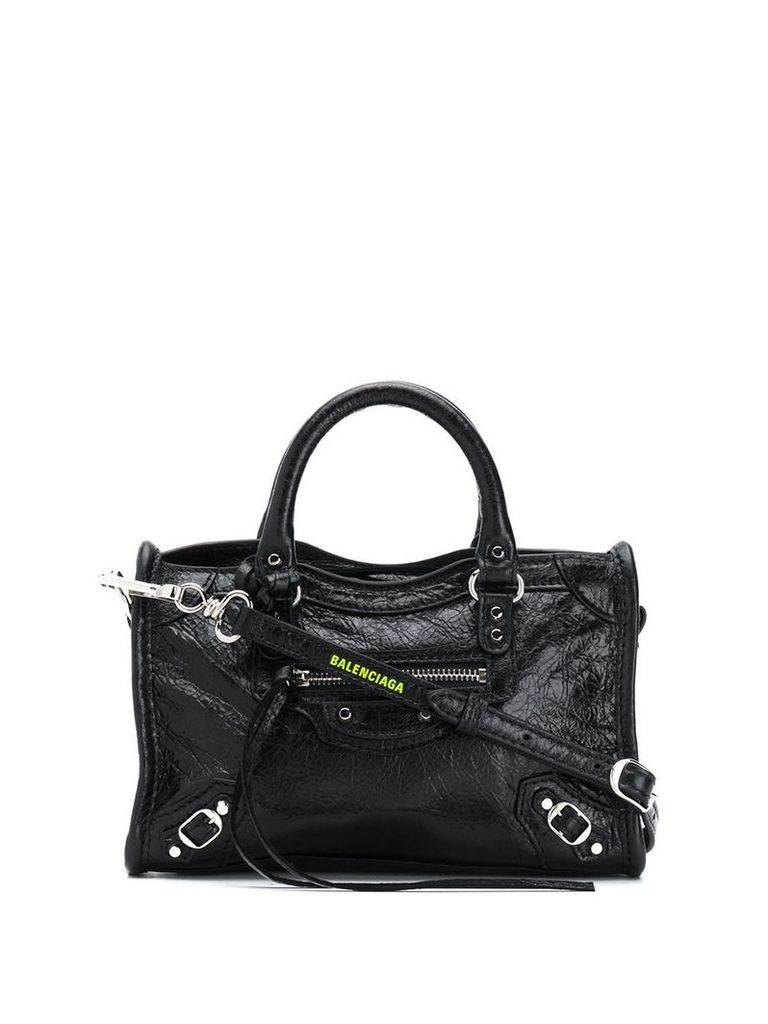 Balenciaga Classic Nano City bag - Black