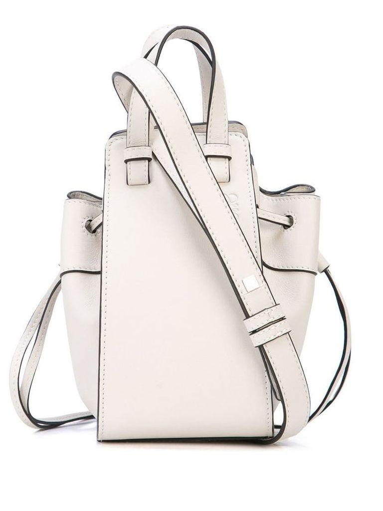 Loewe Hammock mini bag - White