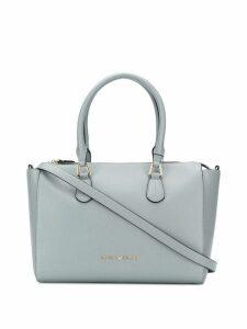 Emporio Armani logo shoulder bag - Grey