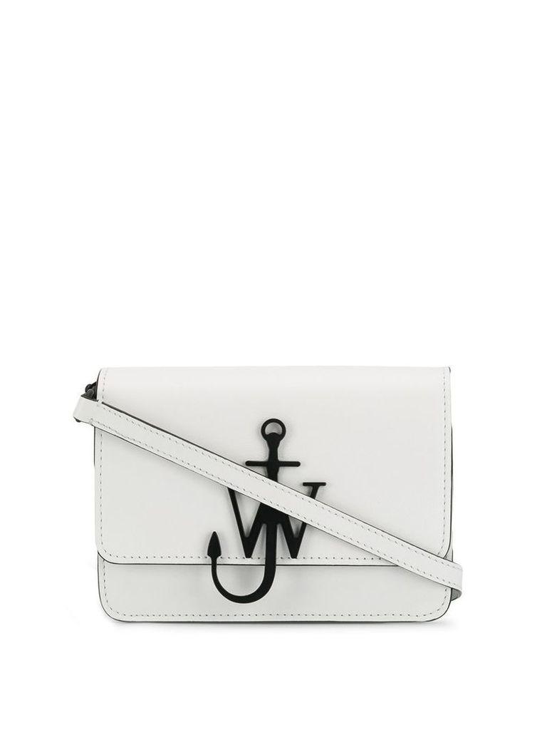 JW Anderson anchor logo shoulder bag - White