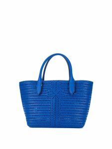 Anya Hindmarch woven tote - Blue