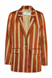Closed Cox Striped Blazer with Cotton