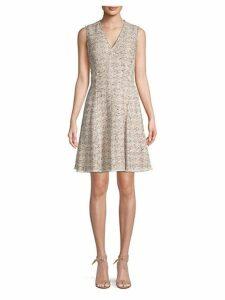 Sparkle Tweed A-line Dress