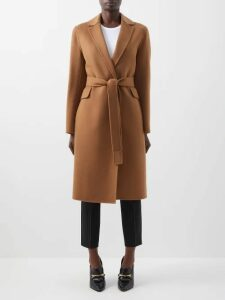 Mara Hoffman - Lauren Panelled Linen Midi Dress - Womens - Black