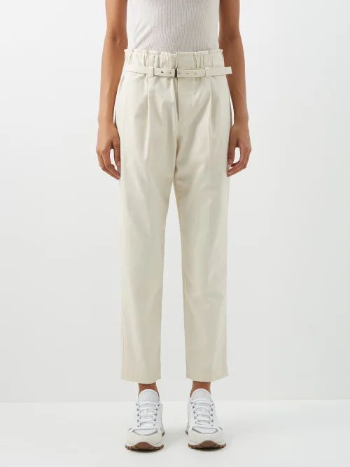 Mara Hoffman - Fiona Scoop Neck Plaid Cotton Maxi Dress - Womens - Pink