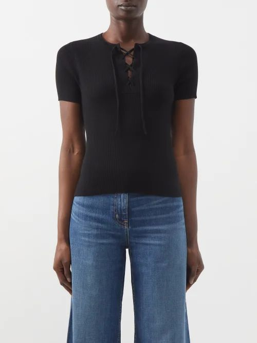 Maison Margiela - Double Breasted Pvc Trench Coat - Womens - Grey