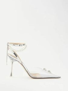 The Row - Rylee Silk Georgette Skirt - Womens - Light Grey