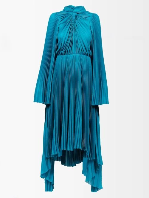 Staud - Sea Tiered Cotton Blend Skirt - Womens - Beige