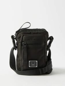 Carolina Herrera - High Rise Cotton Blend Poplin Midi Skirt - Womens - Black