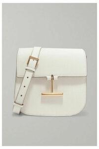 TOM FORD - Tara Mini Textured-leather Shoulder Bag - White