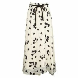3.1 Phillip Lim Ivory Cherry-print Skirt
