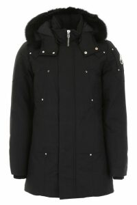Moose Knuckles Stirling Parka With Fur