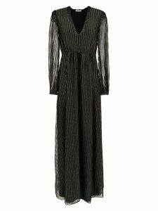 Nk knit lurex dress - Black