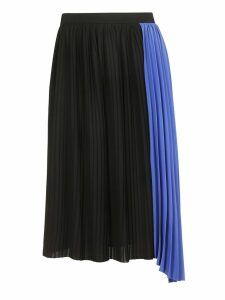 Kenzo Two-tone Pleated Skirt