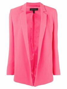 Escada open front blazer - Pink
