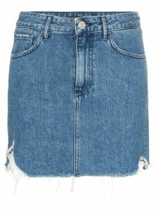 3x1 celine denim mini skirt - Blue