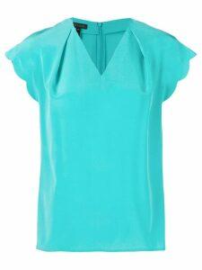 Escada v-neck blouse - Blue
