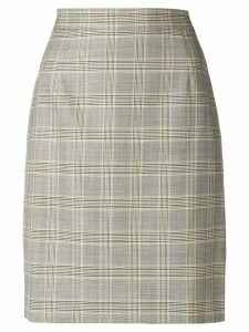 Escada formal plaid skirt - Grey