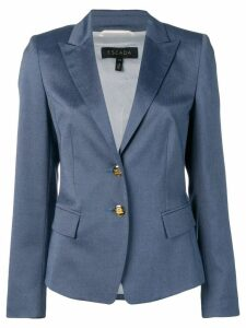 Escada slim-fit blazer - Blue