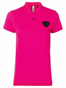 Rossignol patch detail polo shirt - Pink