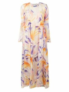 Forte Forte printed maxi dress - Pink