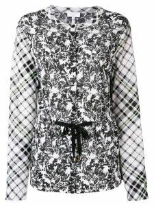 Escada Sport printed longsleeved blouse - White