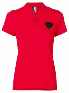 Rossignol patch detail polo shirt - Red