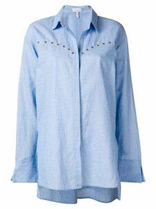 Escada Sport oversized button down shirt - Blue