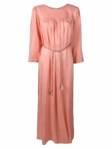 Forte Forte long ruched tunic dress - Pink